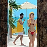 Bella Hadid and The Weeknd on Vacation