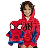 CubCoats Spider-Man 2-in-1 Transforming Hoodie & Soft Plushie