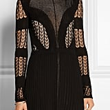Dagmar Elisa Open-Back Lace and Stretch-Knit Mini Dress  ($650)