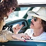 Dallas Buyers Club Matthew McConaughey's performance as AIDS-afflicted '80s cowboy Ron Woodroof is stunning. His weight loss is just a small part of his disappearance into the role, which has McConaughey transform into a hard-living, homophobic, shady man-about-town who turns desperate but never pitiful in his fight against a disease (and the FDA's arbitrary laws), which was still quite new to the world at the time. And Jared Leto is exceptional as Ron's cross-dressing business partner, who helps Ron distribute unapproved AIDS treatments to other patients. It's not just the fact that he's almost unrecognizable; Leto is truly heartbreaking at points.
