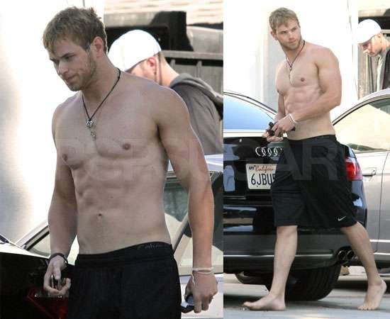 Pictures of Kellan Lutz Shirtless as Breaking Dawn Casts Rami Malek as New Vampire Benjamin