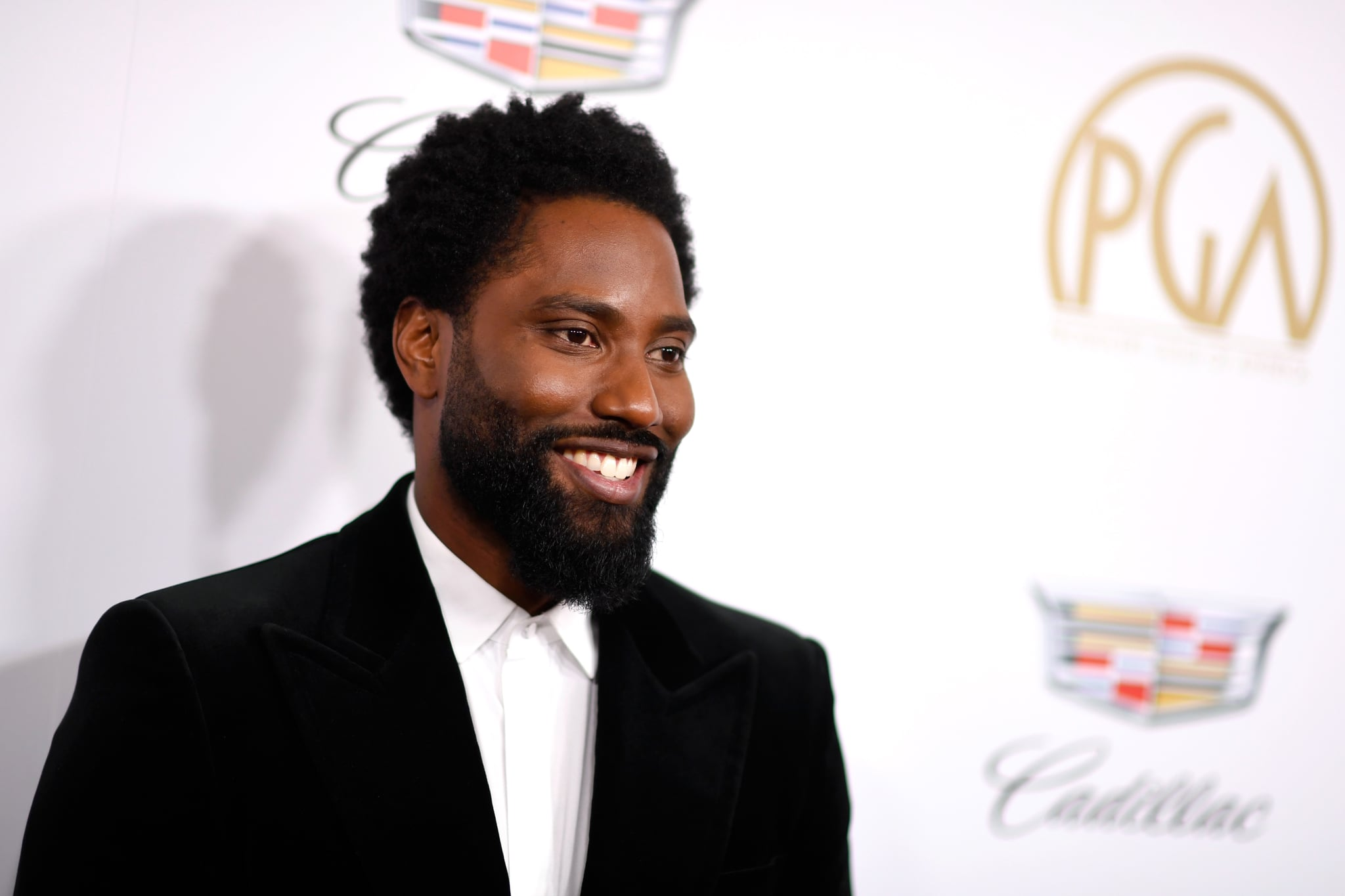 BEVERLY HILLS, CA - JANUARY 19:  John David Washington attends the 30th annual Producers Guild Awards at The Beverly Hilton Hotel on January 19, 2019 in Beverly Hills, California.  (Photo by Frazer Harrison/Getty Images)
