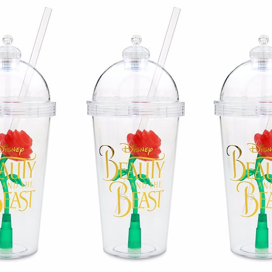 Beauty and the Beast Enchanted Rose Tumblers at Disney Store