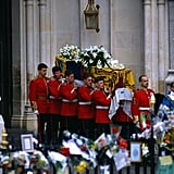 Princess Diana Public Funeral Pictures