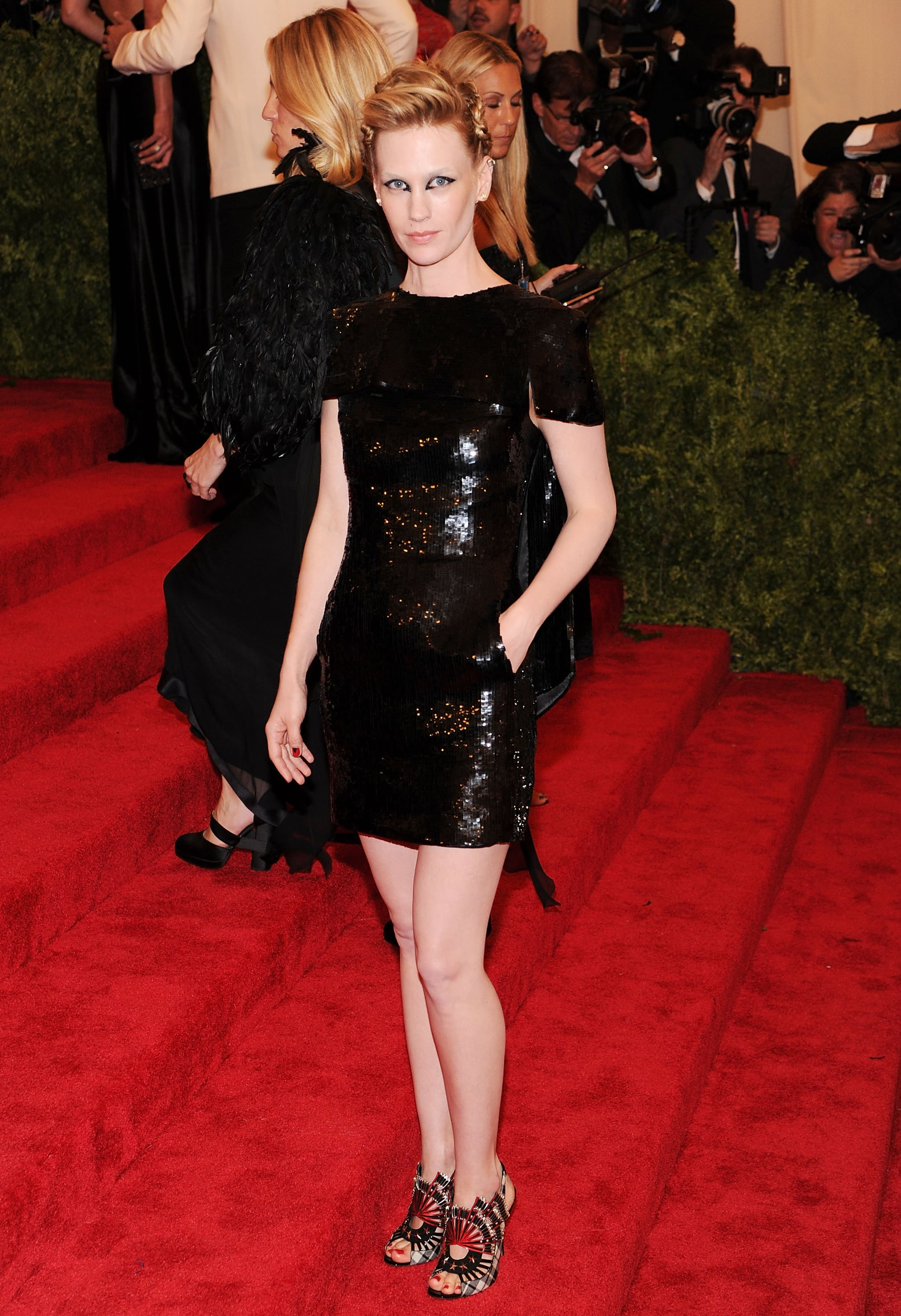 January Jones at the 2013 Met Gala