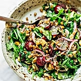 Vegan: Arugula Salad With Grapes, Farro, and Black Pepper Vinaigrette