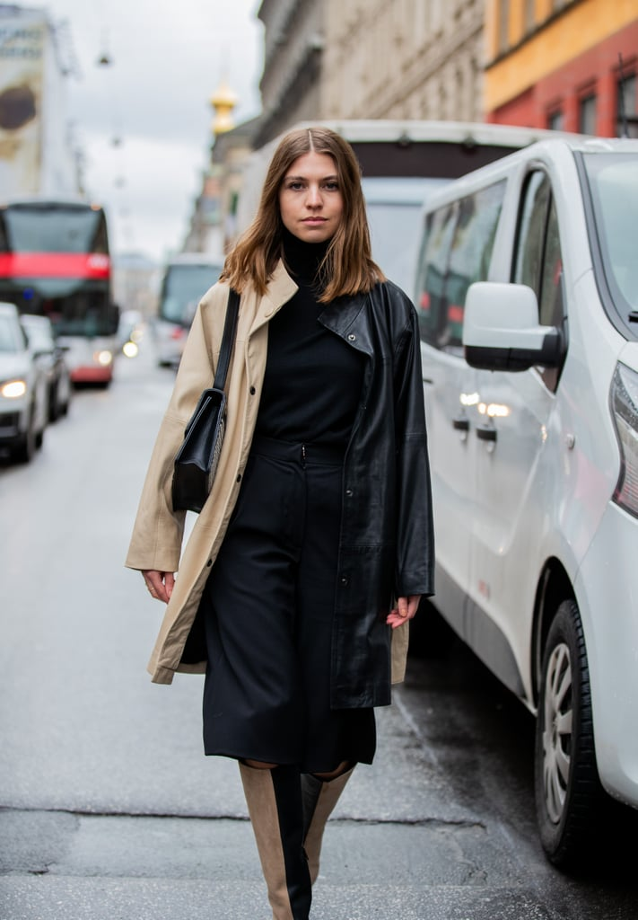 How to Wear the 2-Toned Trend: Dresses and Skirts