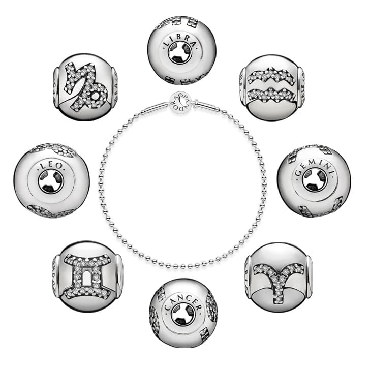 Shop The New Pandora Essence Collection Star Sign Charms