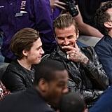 David and Brooklyn Beckham Pictures