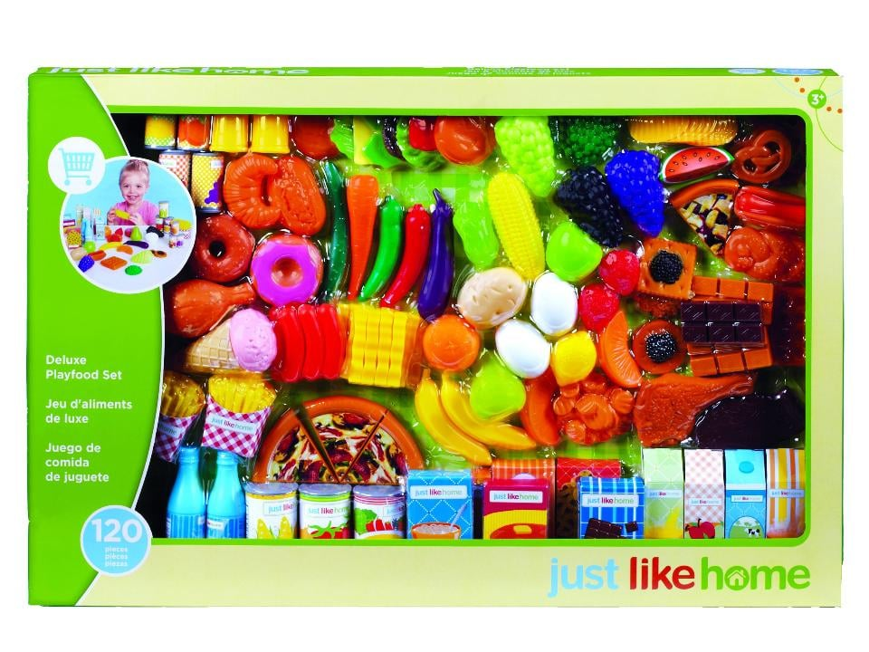 Just Like Home Super Play Food Set