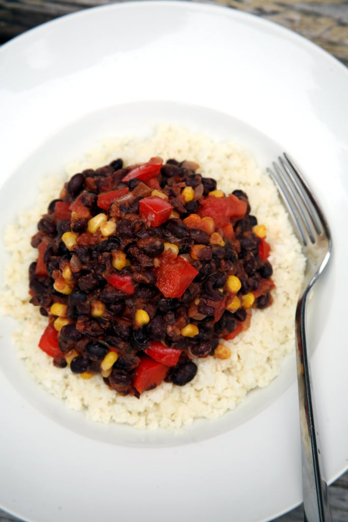 Cauliflower Rice and Beans