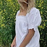 UO Puff-Sleeve Babydoll Dress