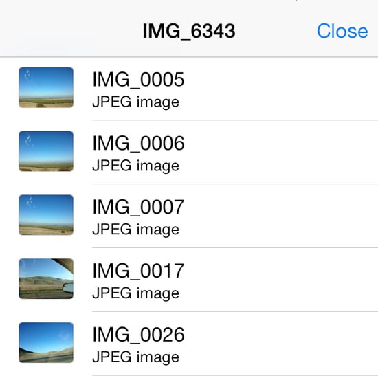 How to Search Texts For Pictures in iOS 7