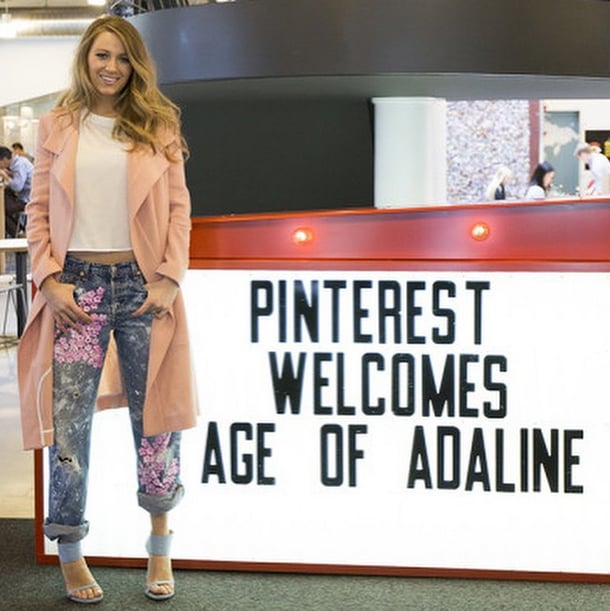 Blake Lively Mastered Postbaby Style With 1 Pair of Jeans