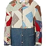 B SIDES Exclusive Patchwork Cotton Jacket