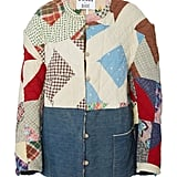 B Sides Exclusive Patchwork Cotton Jacket