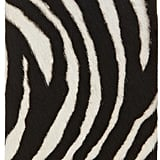 The Case Factory Zebra Print Leather iPhone 5 Case ($135)