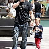 Mark Wahlberg Preps For the Big 4-0 With a Family Lunch