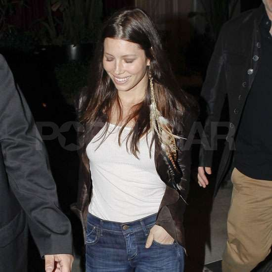 Pictures of Jessica Biel Partying After Justin Timberlake Split
