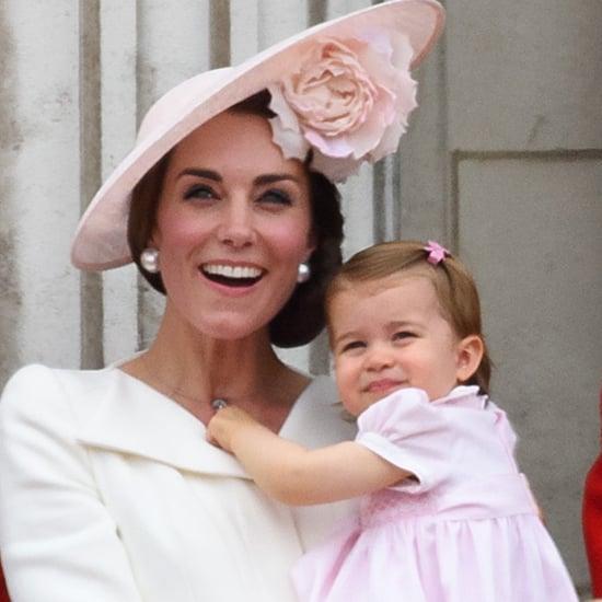 Famille Royale à la Parade Trooping the Colour 2016