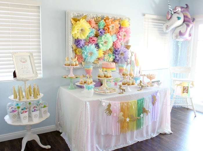 Unicorn Birthday Party Ideas Popsugar Moms