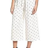Lost Ink Polka Dot Crop Trousers