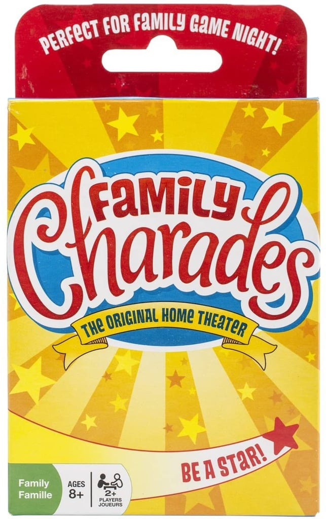 For the Amateur Actors: Family Charades Card Game