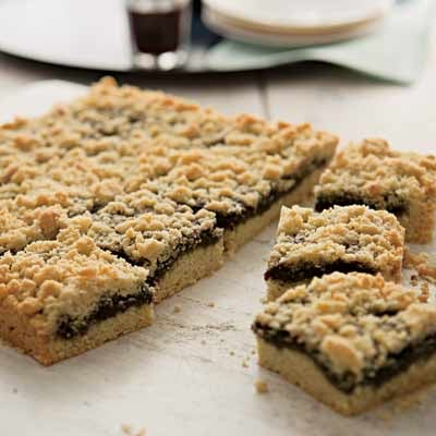 Blueberry Cookie Bars