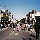Check out each neighborhood's street fair.