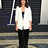 Rashida Jones at the 2019 Vanity Fair Oscars Party