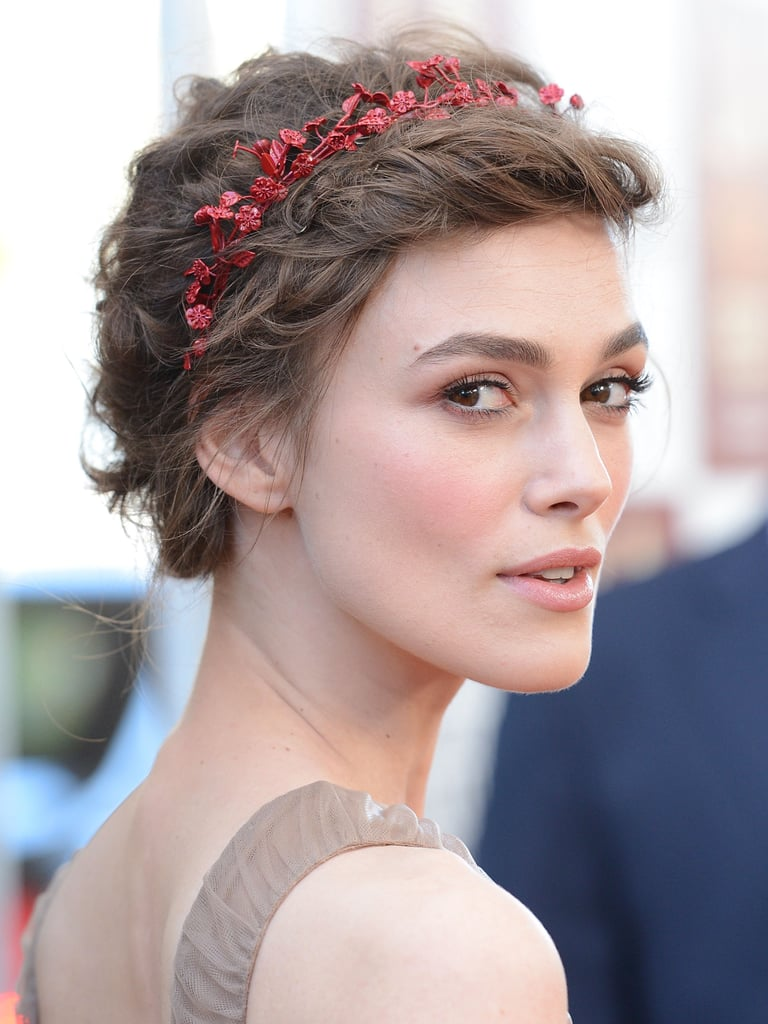 Keira Knightley Modern Updos Buns And Chignons Celebrity Hair