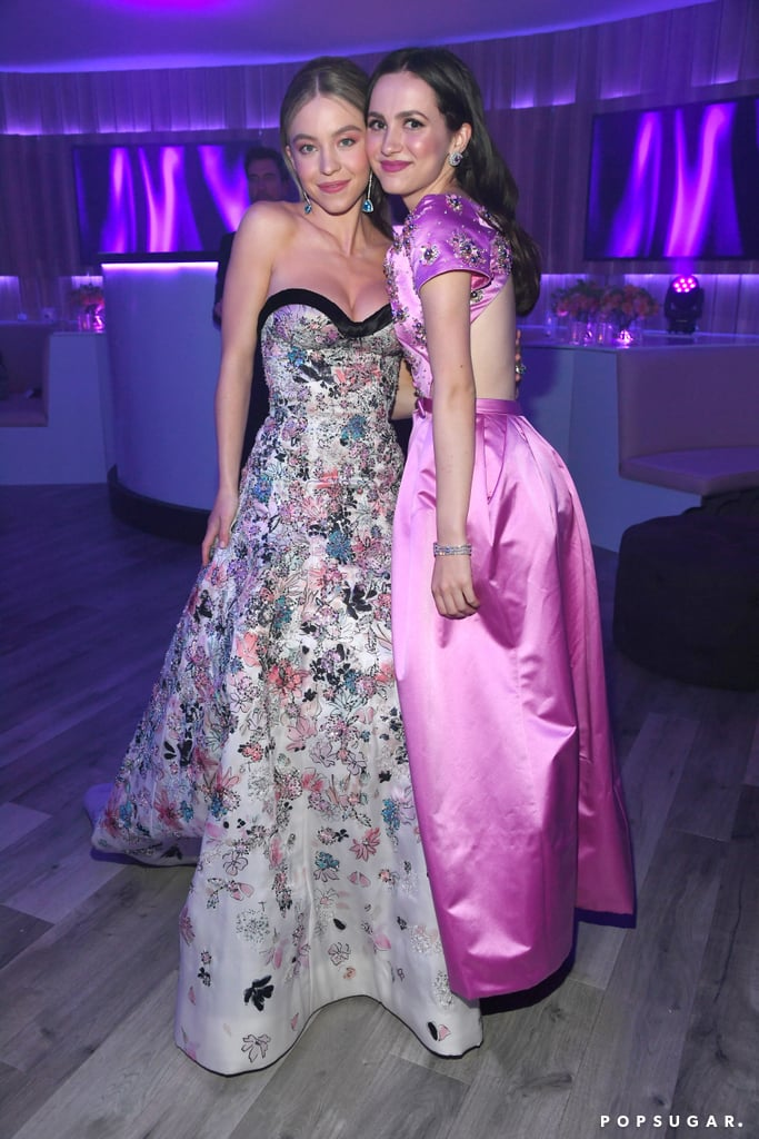 Sydney Sweeney and Maude Apatow at the Vanity Fair Oscars Party