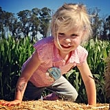 Harper Burtka-Harris celebrated her third birthday with a country-themed party. Source: Instagram user instagranph