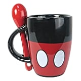 Disney Mickey Mouse Espresso Mug With Spoon