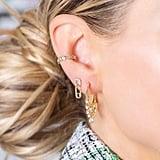 Melinda Maria Baby Safety Pin Stud Earrings