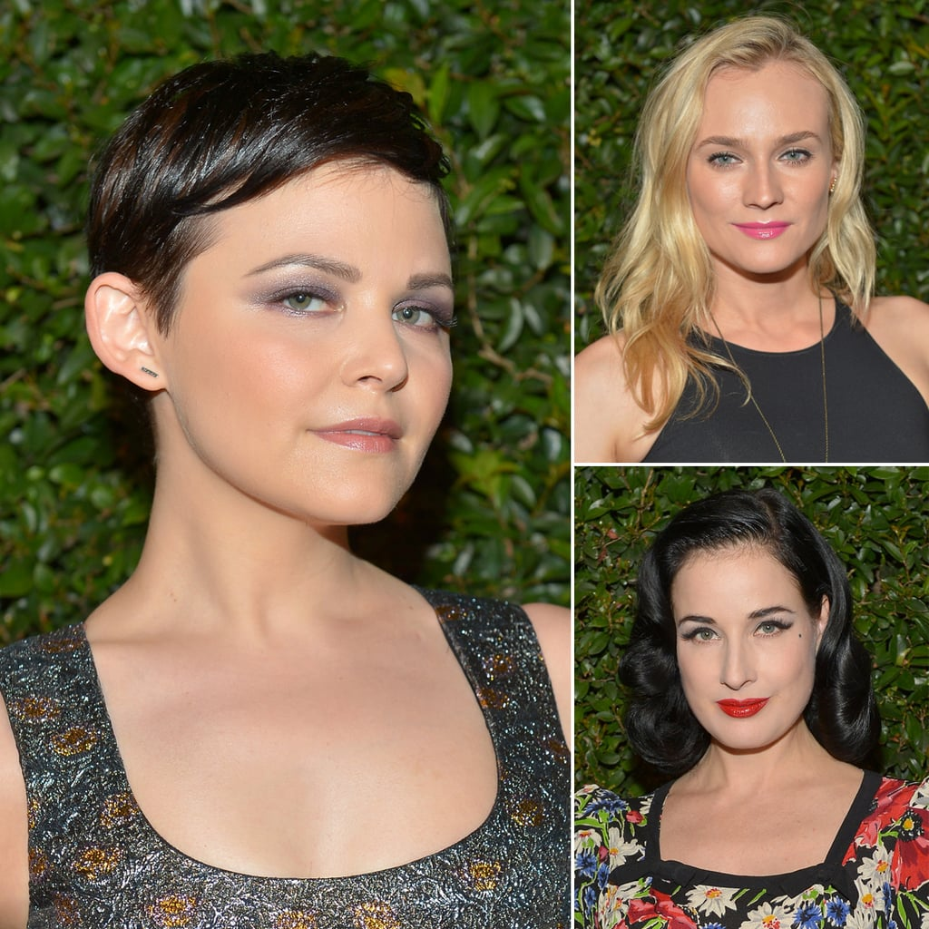 Diane Kruger, Zoe Saldana, and More Celebs Celebrate With Mac Cosmetics & Vogue
