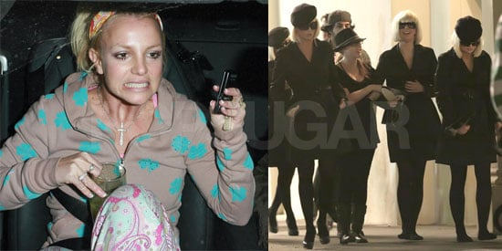 Britney's Video Shoot And Lame Baby Rumors