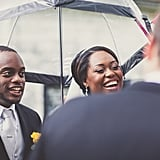 Rainy Canadian Wedding
