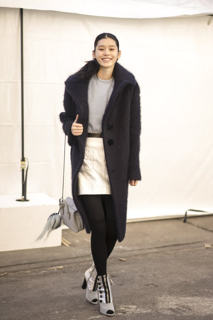 Nyfw Day Two Street Style Stars At New York Fashion Week Fall 2015 Popsugar Fashion Photo 55