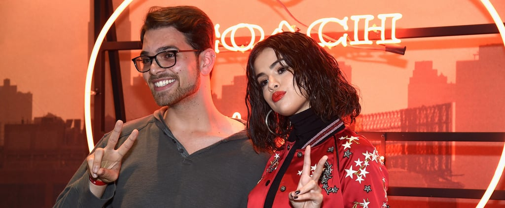 Selena Gomez's Varsity Jacket Looks Even Better When You Get a Close-Up