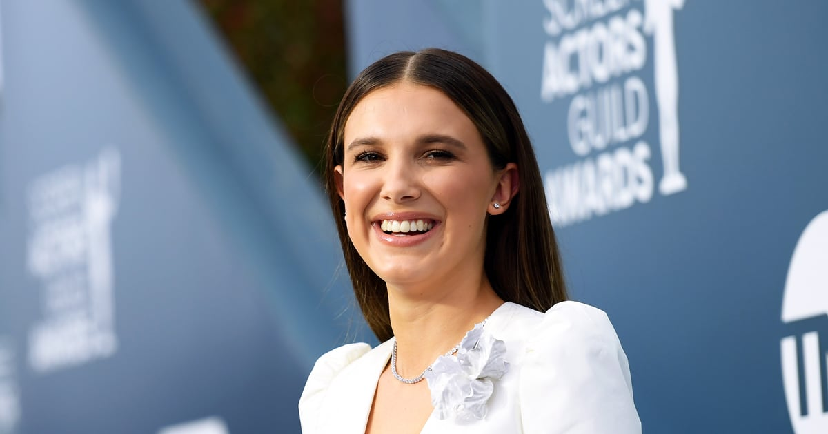 Millie Bobby Brown ushers in the french manicure trend at the SAG
