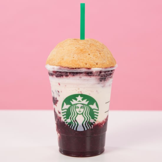 Starbucks Cherry Pie Frappuccino Recipe