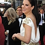 Sandra's sexy back at the Oscars