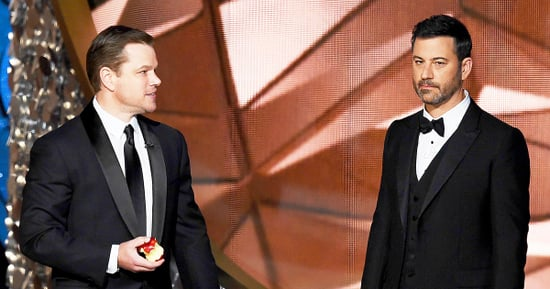 Matt Damon Mocks Jimmy Kimmel's Emmy 2016 Loss: 'Tell Your Mom I Like Dem Apples'