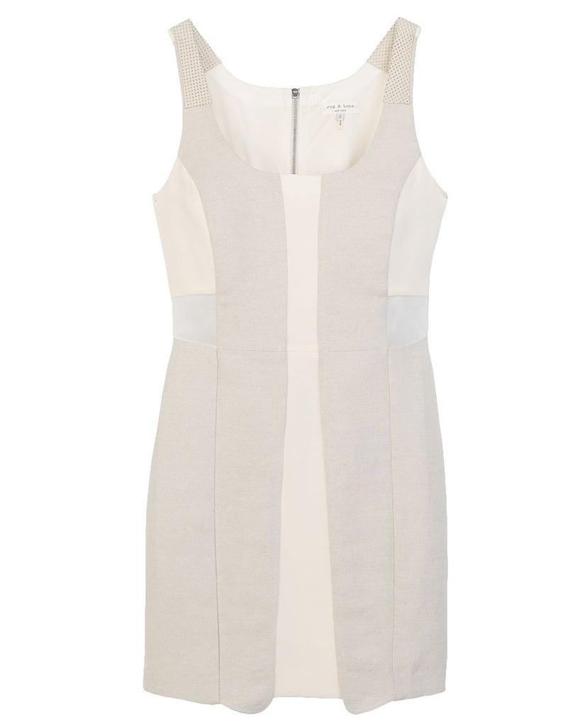 This tank dress shows off Rag & Bone's classic sporty styling.  Rag & Bone Landscape Dress ($495)