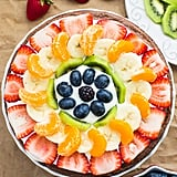 Healthy Brownie Fruit Pizza
