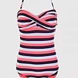 Ginger – Striped Halterneck Swimsuit