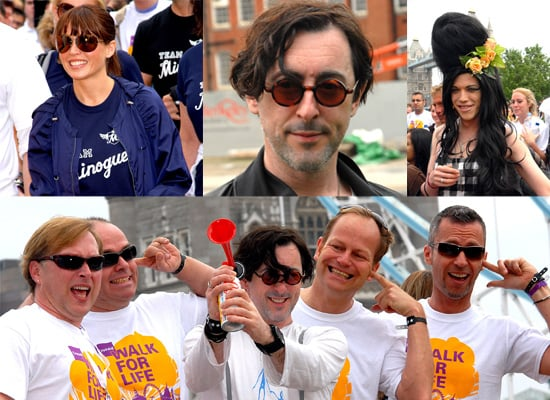 Alan Cumming, Dannii Minogue And Four Poofs And A Piano Take On Crusaid's 10K Walk For Life