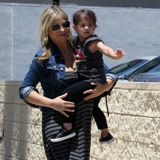 Pregnant Sarah Michelle Gellar Pictures With Daughter