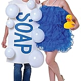 Adult Soap and Loofah Couples Costume ($60)